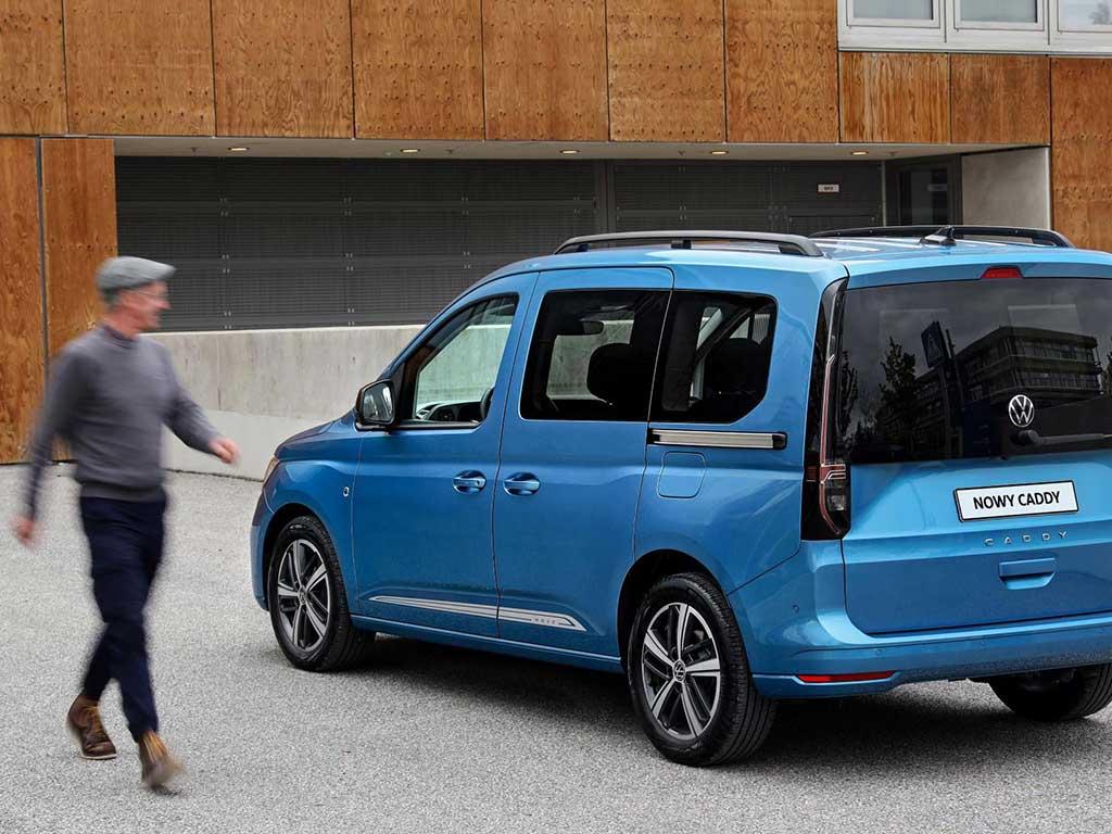 Volkswagen Caddy 5 - kompaktowy rodzinny minivan