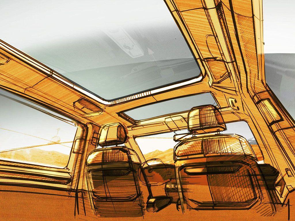 Multivan - swoboda i elastyczność aranżacji wnętrza